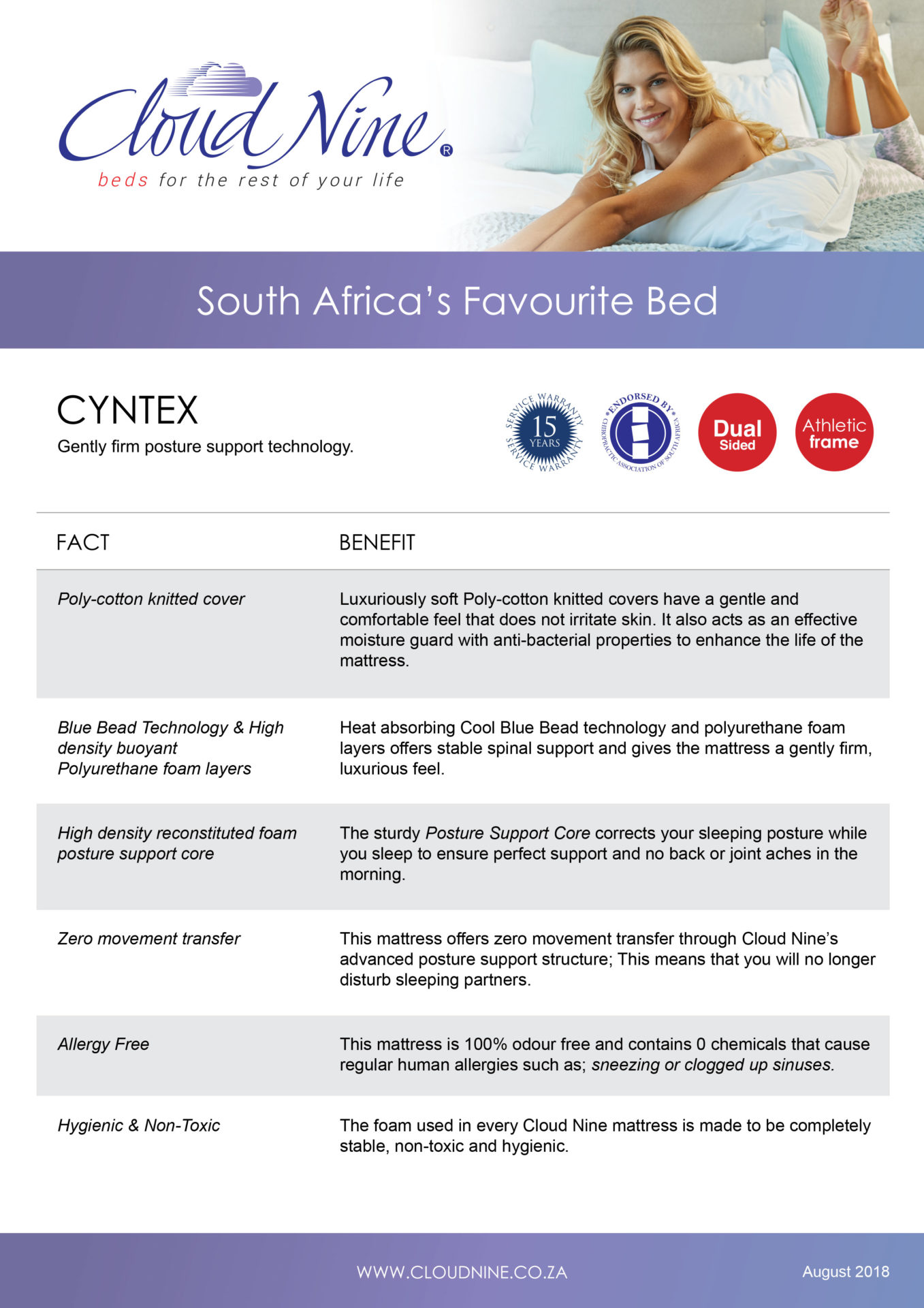 Cloud Nine | Cyntex Bed Set – Single, The Bed Centre