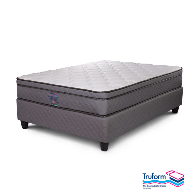 Truform | Burgandy Non Turn Bed Set – Double