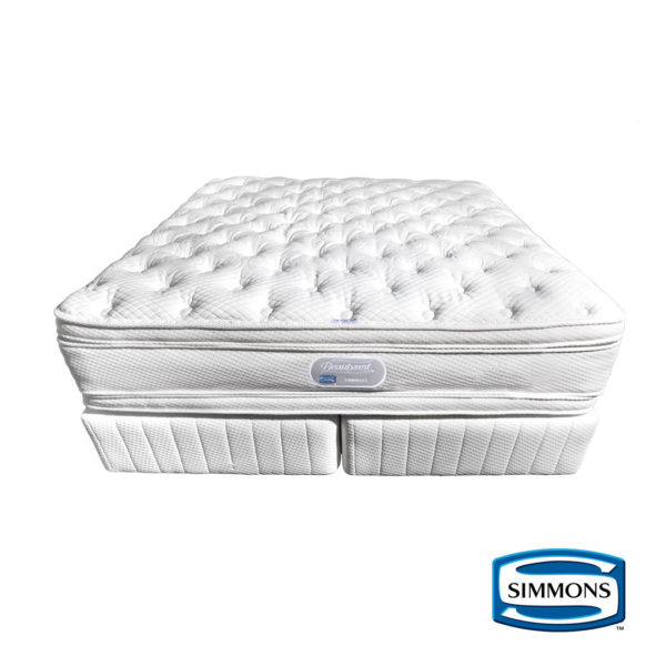 Simmons | Pinnacle Plush Bed Set – Single, The Bed Centre
