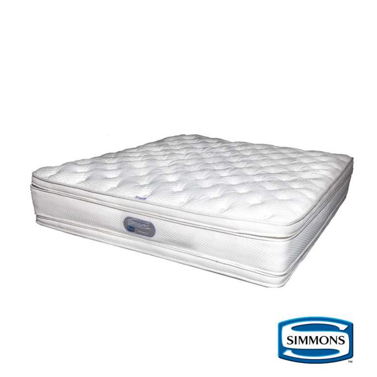 Simmons | Pinnacle Mattress – 3/4, The Bed Centre