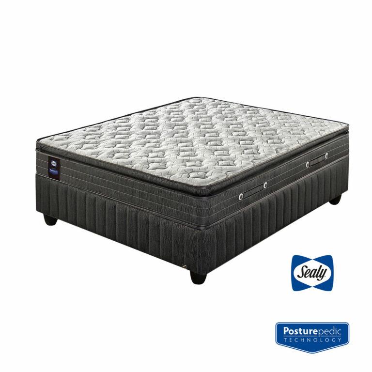 Sealy | Castlerock Medium Bed Set – Single