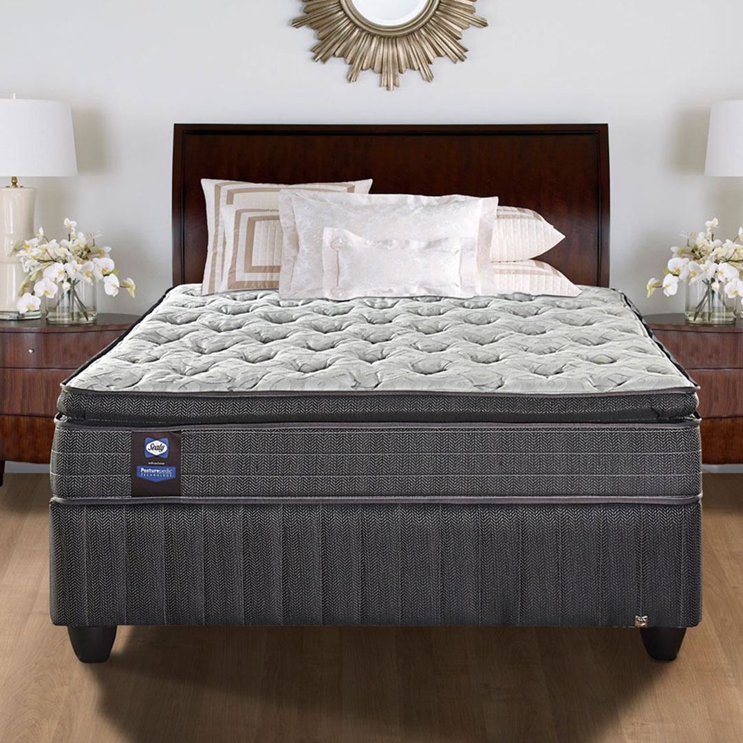 Sealy | Castlerock Mattress – King, The Bed Centre