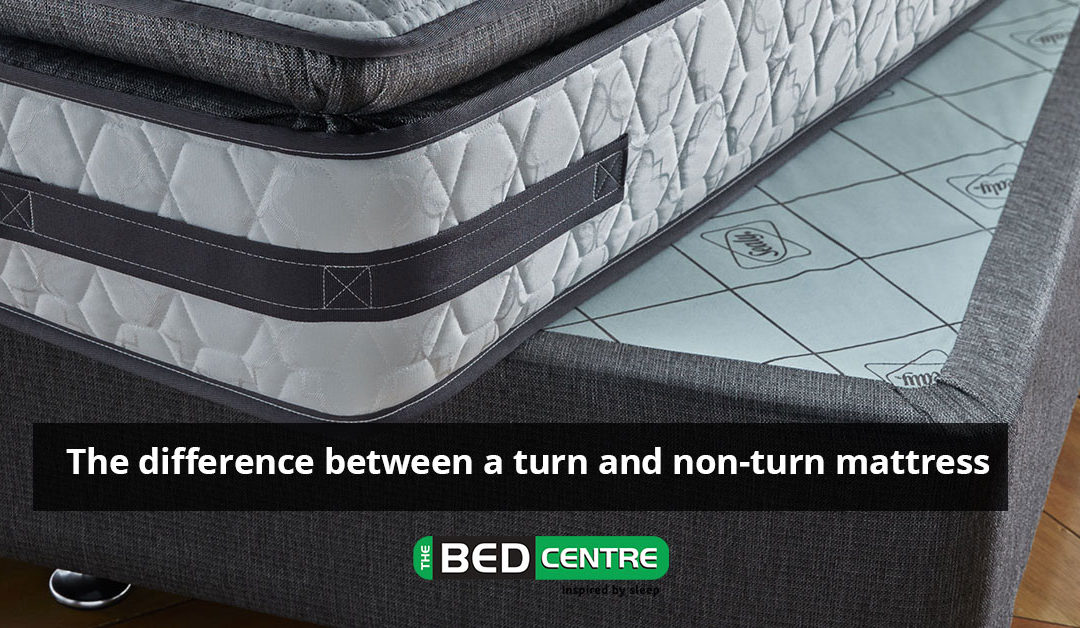 The difference between a turn and non-turn mattress