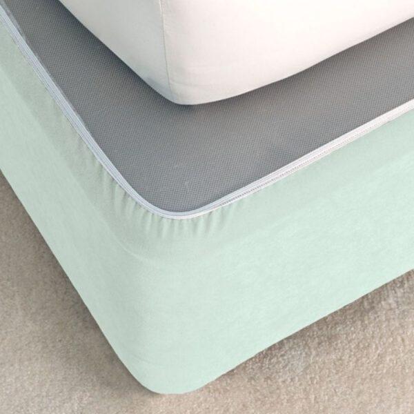 Linen House | Bedwrap – Duck Egg, The Bed Centre