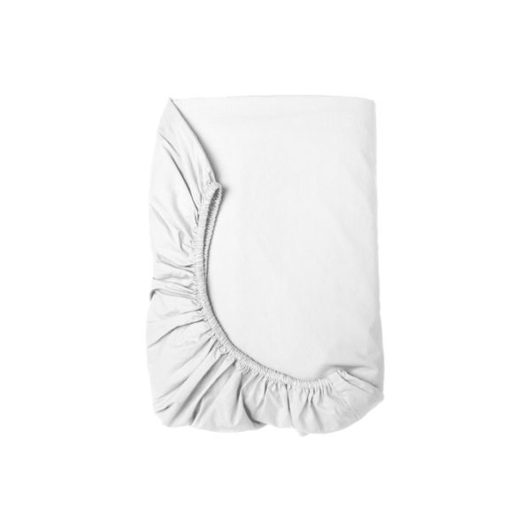 Linen House | Fitted Sheets – White, The Bed Centre