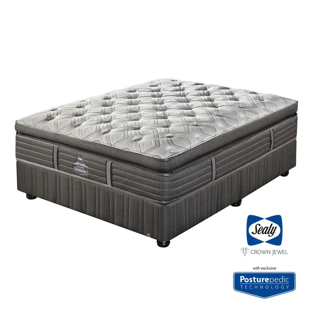 Stark Plush Bed Set - Queen - The Bed Centre