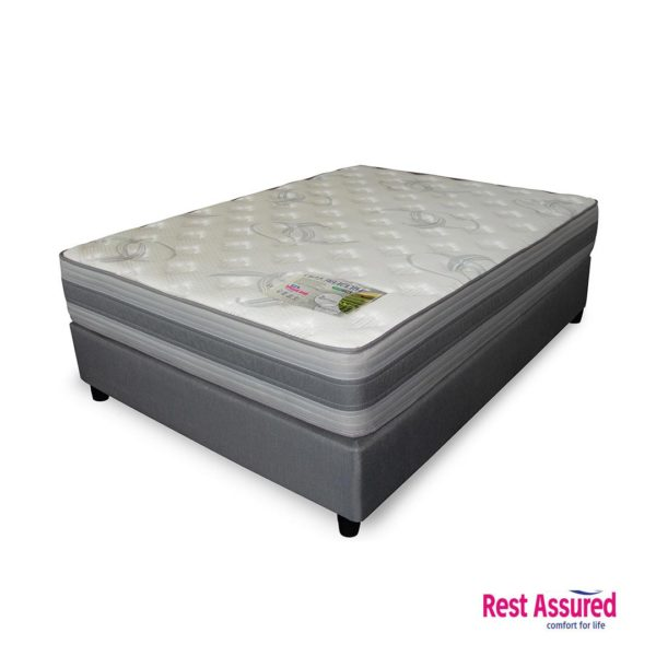 Rest Assured | Hildebrand Bed Set – 3/4, The Bed Centre