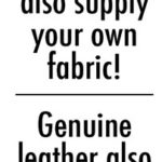 Supply own fabric