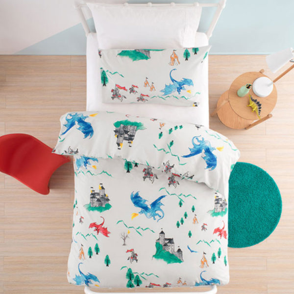 Dragons Duvet Cover Set, The Bed Centre
