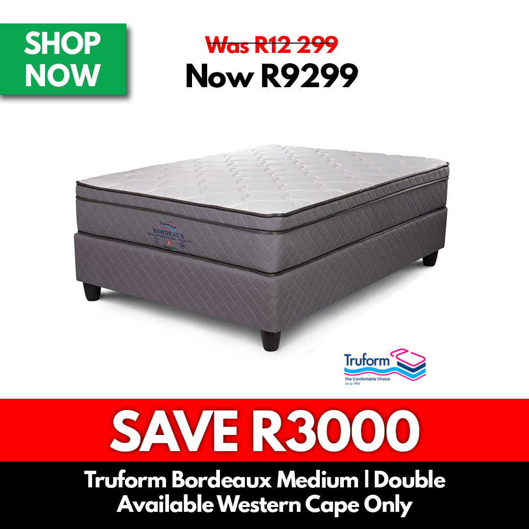 Truform Bordeaux Medium | Double - Beds for Sale Online Specials