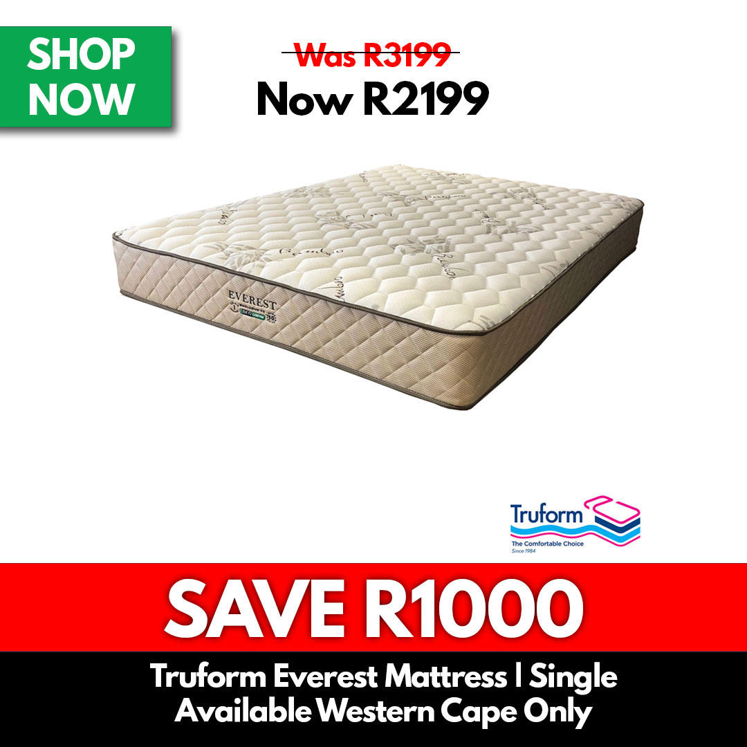 Truform Everest Firm | Single - Mattresses for Sale Online Specials