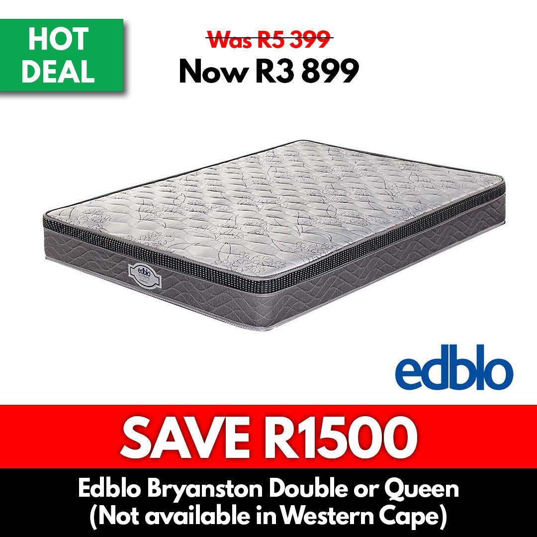 Edblo | Bryanston Double or Queen - Beds for Sale Online Specials