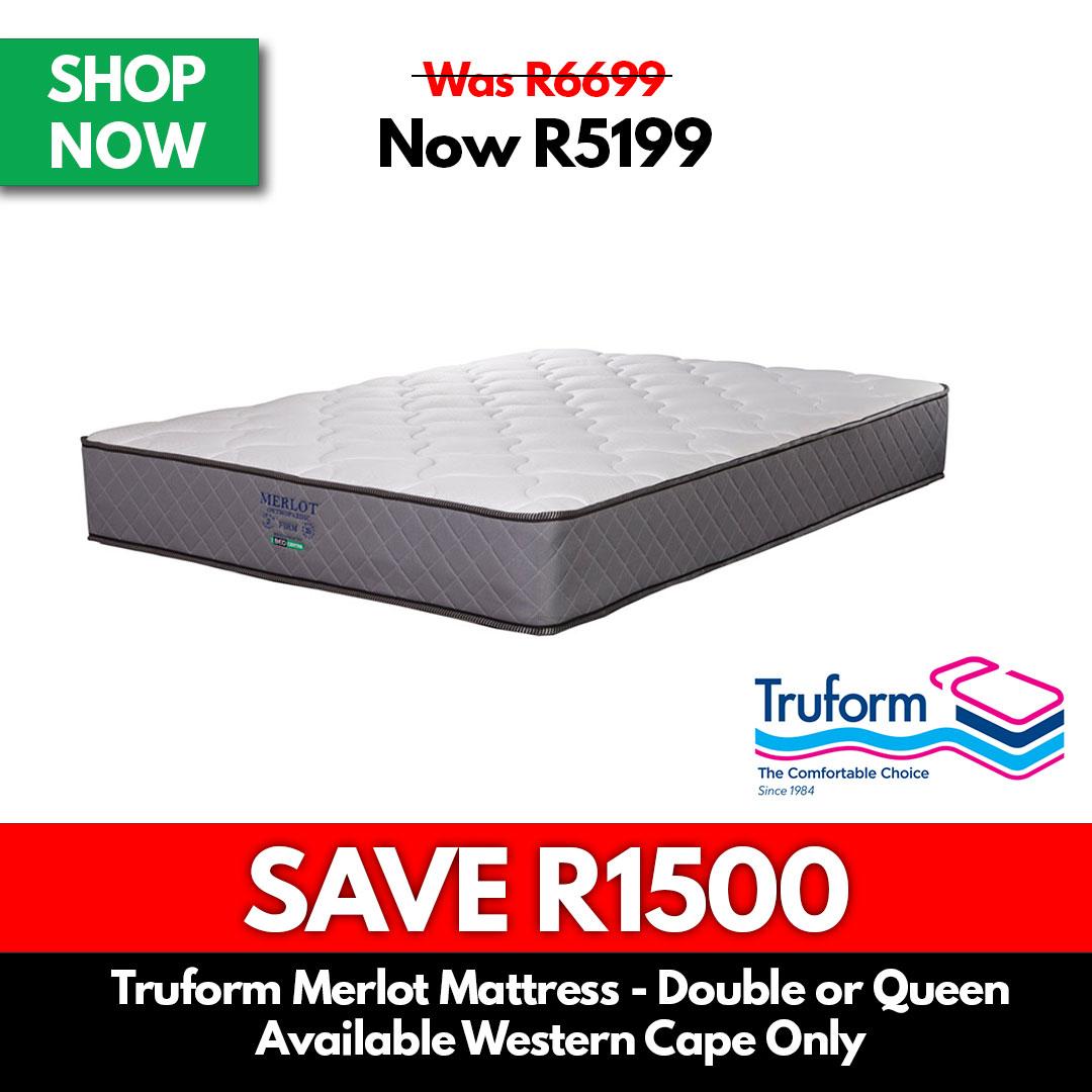Truform | Merlot - Double or Queen - Beds for Sale Online Specials