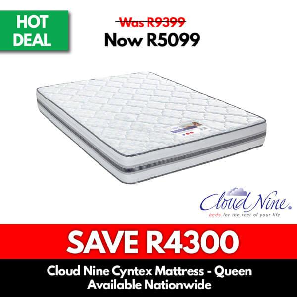 Cloud Nine Cyntex Mattress | Double or Queen - Beds for Sale Online Specials