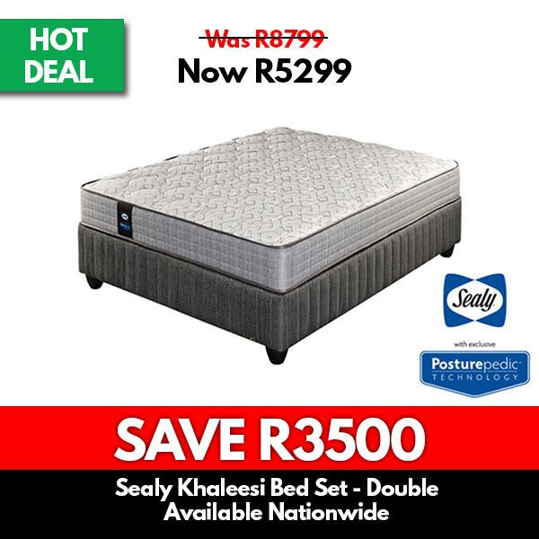 Sealy | Khaleesi Firm Bed Set