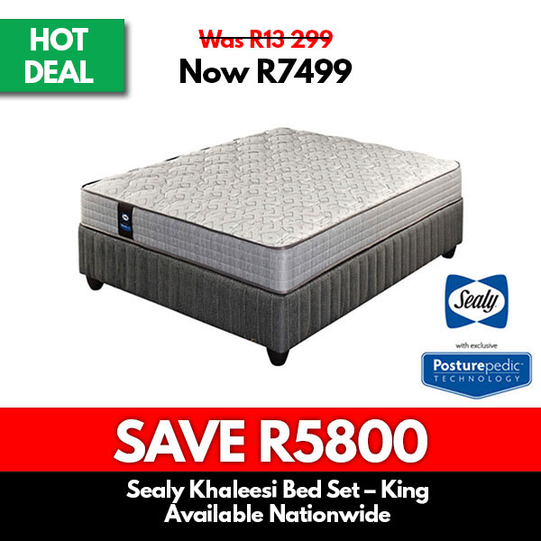 Sealy | Khaleesi Bed Set – King