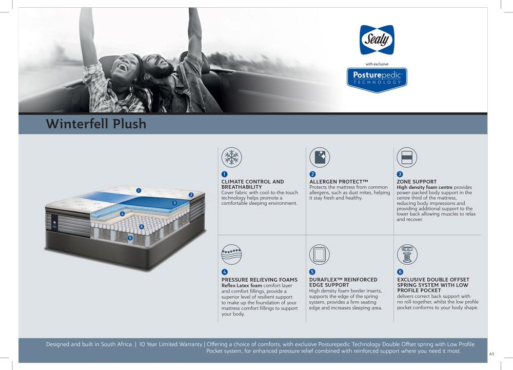 Sealy | Winterfell Plush Bed Set