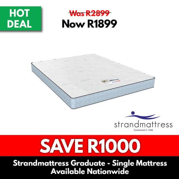 Strand Mattress | Graduate Single Mattress - Mattress for Sale Online Specials
