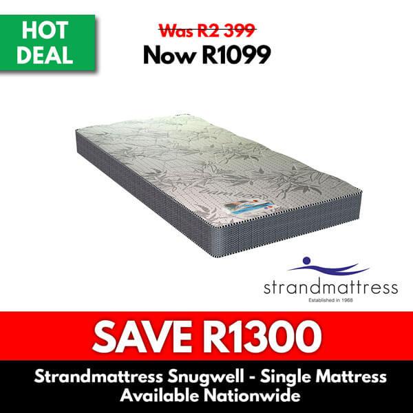 Strand-Mattress-Snuwell